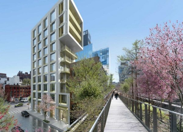 Hudson Yard Luxury Apartments 500 West 25 Street High Line