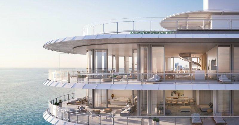 Eighty Seven Park Penthouses Miami