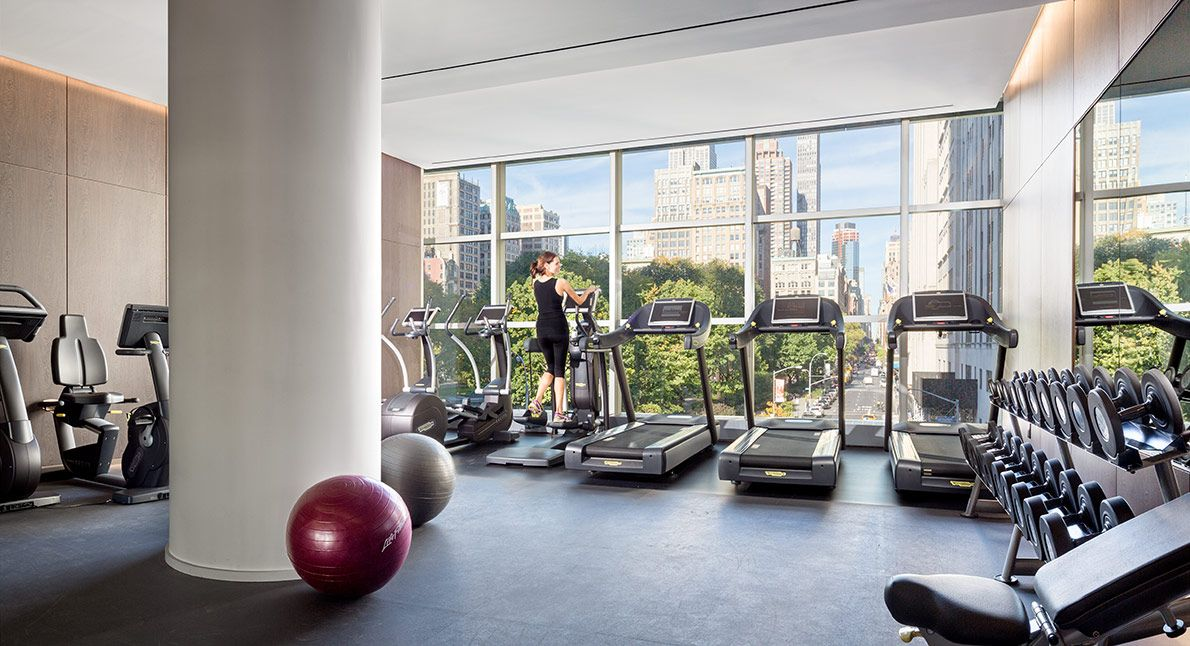one madison 23 east 22 ny condo - gym