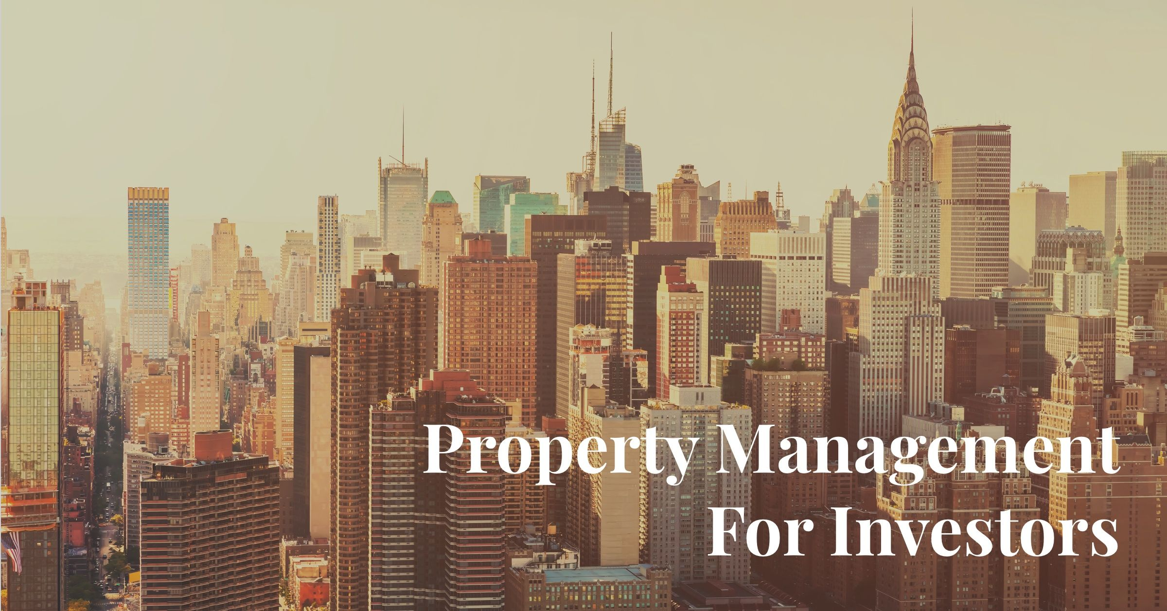 Property Management Investors New York & Miami | Manhattan Miami